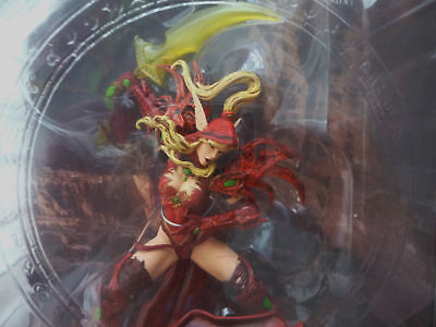 DC Unlimited World of Warcraft VALEERA SANGUINAR Blood Elf Rogue Series 1 WoW S1