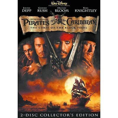 Disney's PIRATES OF THE CARIBBEAN - THE CURSE OF THE BLACK PEARL 2-Disc DVD