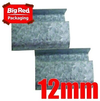 250(approx) x 12mm Steel Open Seals for Poly Strapping
