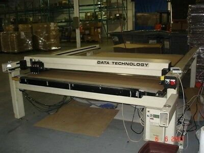 DT9066 Corrugated Box making cnc cad table Refurbished