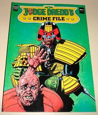2000ad JUDGE DREDD CRIME FILE Volume 3 Graphic Novel   1989  VFN/NM