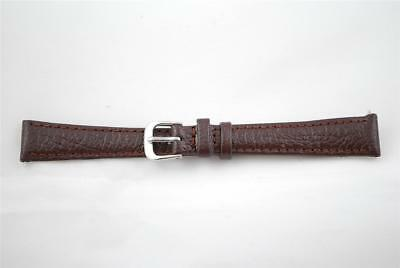 SALE -  14mm Brown Leather Watch strap, Strong Durable, Incl Spring Bars - AG7