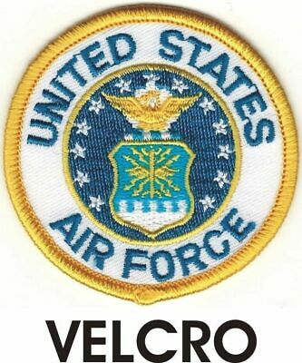 USAF Seal of US Air Force Patch VELCRO® BRAND Hook Fastener Compatible
