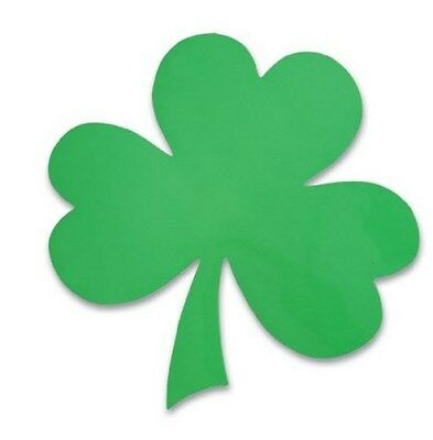 25 Irish Shamrock Clover Leaf  - car auto magnet decals