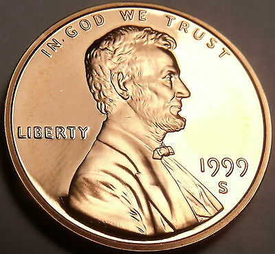 Proof 1999-S Very Scarce Lincoln Cent~Wow~Free Shipping