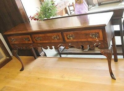 Farmhouse Oak Dresser Sideboard Cab Leg Buffet