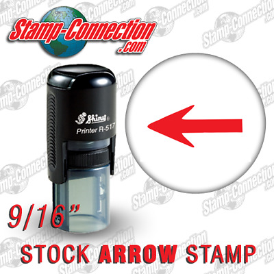 Shiny 517R ARROW Self-Inking Stamp (RED)