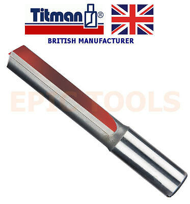 "TITMAN UK Made H122 1/2"" x 50mm (2"") Kitchen Fitters Worktop Router Cutter Bit"