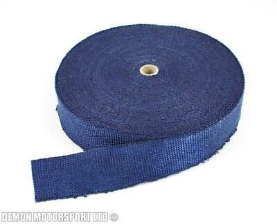 10m Roll of Blue Exhaust Heat Wrap (3mm Thick) - Manifold, Downpipe, Turbo Elbow