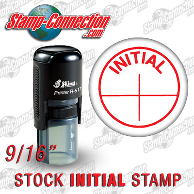 Shiny 517R INITIAL Self-Inking Stamp RED