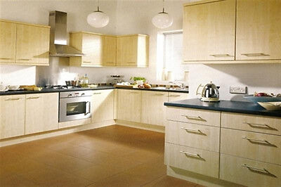 New - Complete Fitted Budget Kitchen - Light Maple