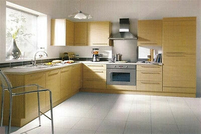 New - Complete Fitted Budget Kitchen - Natural Oak