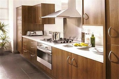 New - Complete Fitted Budget Kitchen - Walnut
