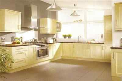 New Complete Fitted Budget Kitchen - Light Maple Shaker