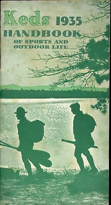 Keds Sneakers Shoes 1935 Handbook Sports Outdoor Life