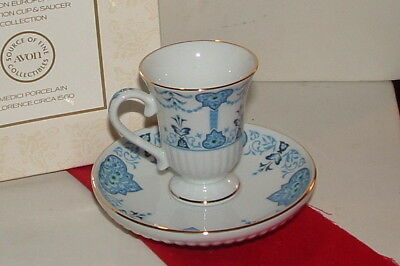 Avon Florence Italy cup and saucer collection MIB