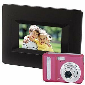 Polaroid Pink 8 Mp,Camera & Digital  Photo Frame - Used