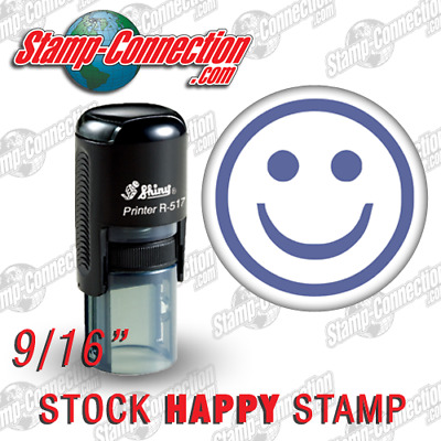 Shiny 517R HAPPY Self-Inking Stamp (PURPLE)