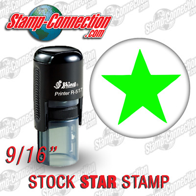 Shiny 517R STAR Self-Inking Stamp (GREEN)