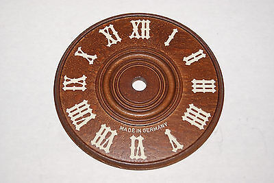 Replacement Wooden Cuckoo Clock Dial 11 Cm  New Parts
