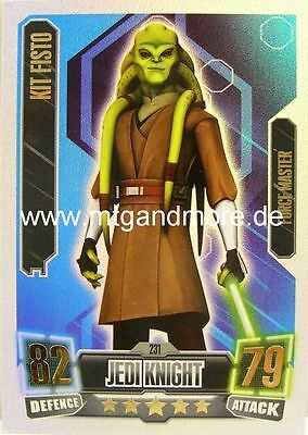 Force Attax Serie 2 Kit Fisto #231 Force Master