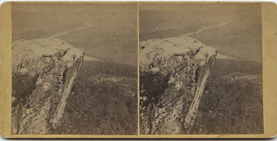 stereoview PHOTO ~ VIEW FROM LOOKOUT MOUNTAIN TENN