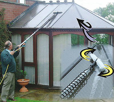 CONSERVATORY ROOF CLEANER.WATER FED POLE 5.23 METRE17ft