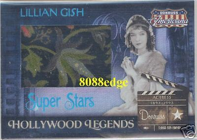 2007 Donruss Americana Hollywood Legend Worn Jumbo Swatch:lillian Gish #1/25 1/1