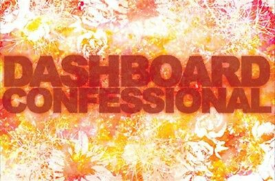 DASHBOARD CONFESSIONAL ~ FLOWERS LOGO POSTER Music 24x36