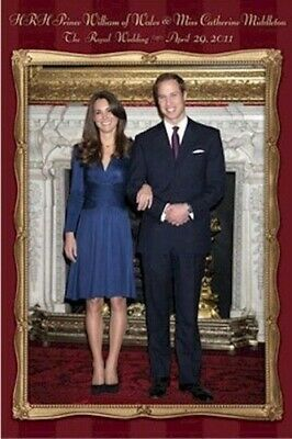 POSTER ~ ROYAL ENGAGEMENT PRINCE WILLIAM & CATHERINE KATE MIDDLETON Wedding