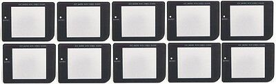10 LOT Play it Loud Dark Replacement Screen Lens for Game Boy original