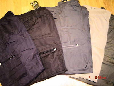 Combat Cargo Army Brushed Fleece Lined Warm Work Trousers New  M L Xl Xxl 3Xl