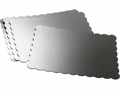 13 x19 inch Silver Cake Platters 4 ct from Wilton #1169