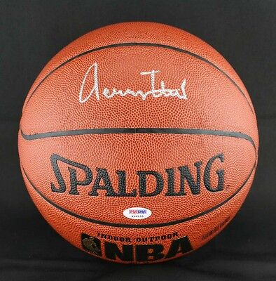 44b03b7b0 Jerry West SIGNED I O Basketball Los Angeles Lakers PSA DNA AUTOGRAPHED