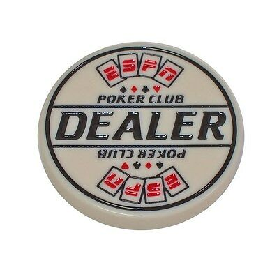 ESPN Poker Club Engraved Dealer Button