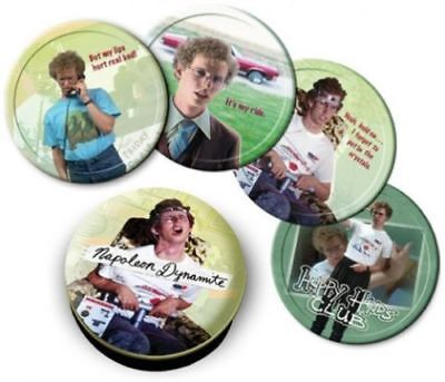 Napoleon Dynamite Tin Coasters set of 4