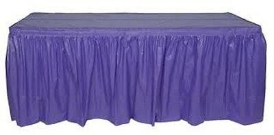Plastic Tableskirts & Tablecovers 20 Colours.table Skirt Table Cover Table Cloth
