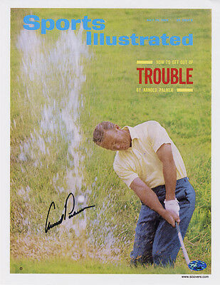 Arnold Palmer SIGNED Sports Illustrated Print Masters PSA/DNA AUTOGRAPHED