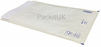 Gold or White A4 C4 Padded Bubble Envelopes Large Lite Mailing Bags G/4 JL4