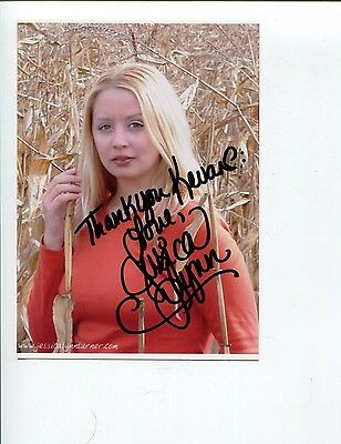 Jessica Lynn Turner Sexy Singer Songwriter Signed Autograph Photo