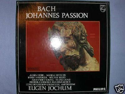 3 Lp Philips Bach Johannes Passion Jochum