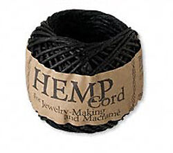 82FT Of Natural Hemp Beading Cord 1MM PICK COLOR