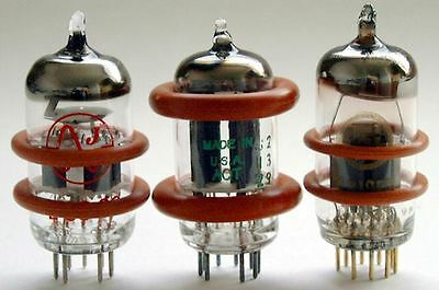 8 X TUBE AMP/PREAMP DAMPERS FOR 12AX7/6922/EL84/6DJ8/6N1P/ECC83/6BQ5/12AT7/12AU7