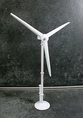 Melody Jane Dolls Houses Miniature Garden Accessory Home Wind Turbine White