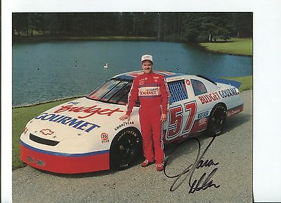Jason Keller NASCAR Sprint Cup Nationwide Driver Signed Autograph Photo