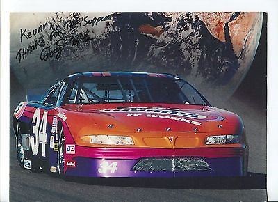 Doug McCoun NASCAR Weekly Series Champion Driver Signed Autograph Photo
