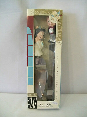 Warner Brothers 1995 Porky Pig And Petunia Cakeserver Utensil Set Mib #d894.