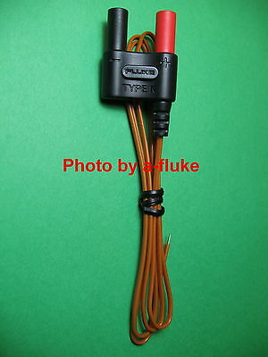 Fluke 80BK-A  K-Type Thermocouple for 1587 Insulation Meter New!
