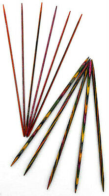 KnitPro Symfonie Wood Double Pointed Sock Needles DPN's 2mm - 8mm Length 15cm