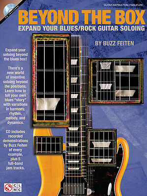 Beyond The Box Expand Your Blues Rock Guitar Soloing Tab Book Cd NEW!